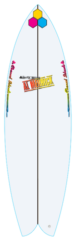 Custom Fishbeard 5' 8""