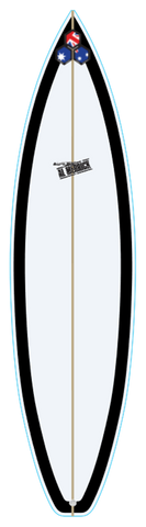 Custom Black Beauty 7' 2""