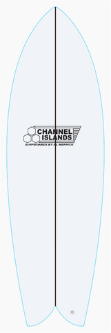 Custom CI Fish 6' 0""