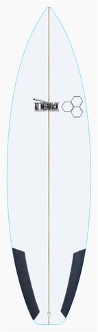 "Custom Fred Rubble 6' 2"" for Marcus Swan"