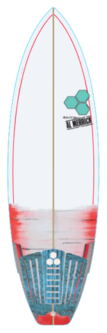 Custom Weirdo Ripper 5' 8""