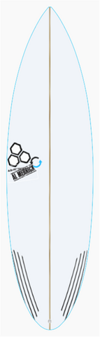 Custom Black and White 6' 0""