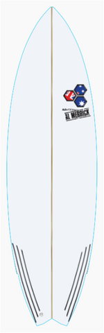 Custom Weirdo Ripper 6' 1""
