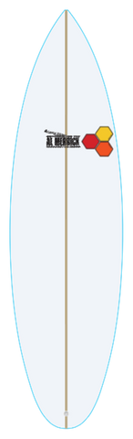 Custom Fred Rubble 5' 11""
