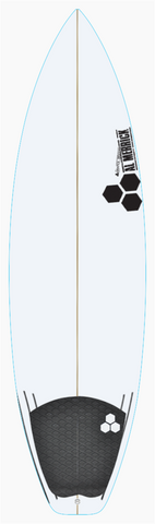 "Custom Black and White 5' 6"" for Sebastian Cooper"