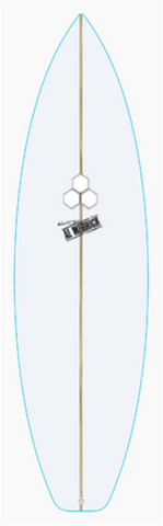 "Custom Girabbit 6' 1"" for Simon Jessop"