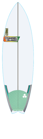 Custom Rocket Wide 5' 10""