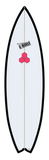 Custom Black and White 5' 8""