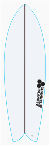 Custom CI Fish 5' 6""