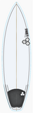 "Custom Black and White 6' 4"" for Jay O\'Sullivan"