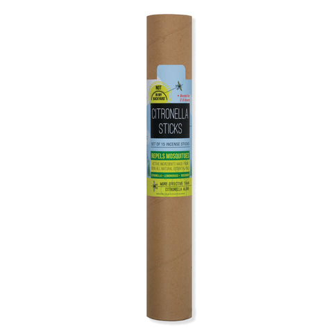 Citronella sticks 15 pack in tube
