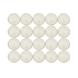 Outdoor Tealights with Essential Oils / Set 20