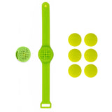 Silicone Go Anywhere Clip and Wristband with 6 Inserts