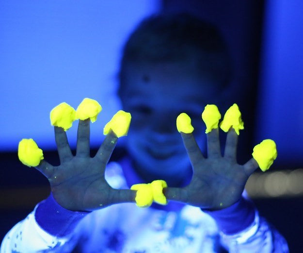 Whip Up Some Glow In The Dark Playdough