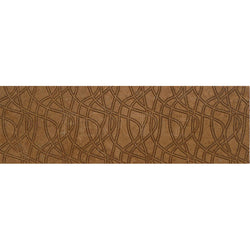 "Engraved Designer Border  : 4""X12"" [W] - Noce [Coffee] - Honed And Filled"