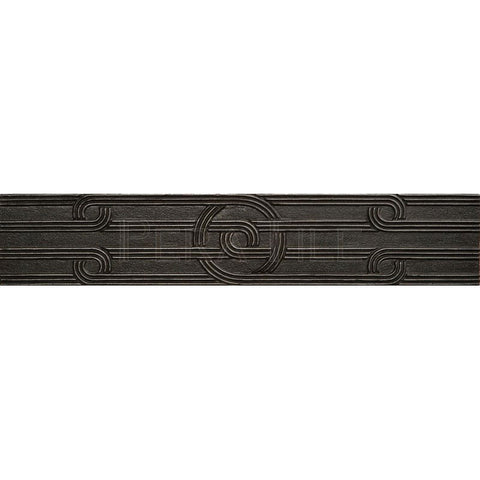"Metal Decors: 2 1/4""X12""  Border - Wrought Iron"