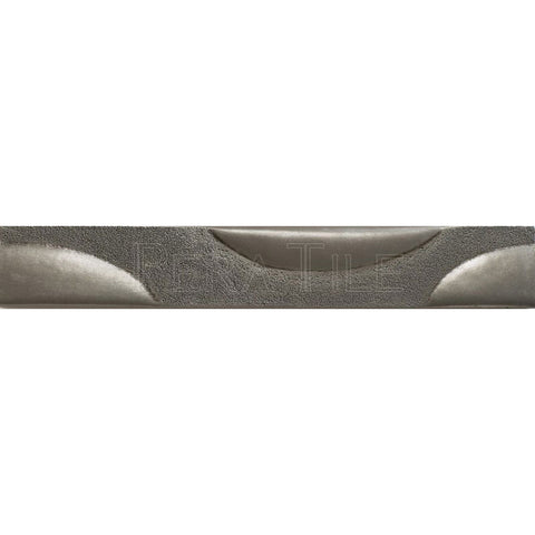 "Metal Decors: 2""X12"" Border - Pewter"