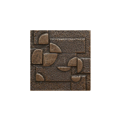 "Metal Decors: 2""X2"" Insert - Bronze"