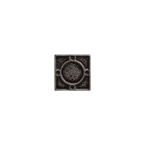 "Metal Decors: 1""X1"" Insert - Pewter"