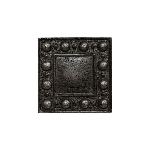 "Metal Decors: 2""X2"" Insert - Wrought Iron"