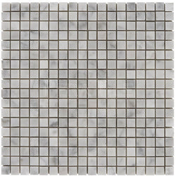 "Bianco Carrara 5/8""X5/8"" Mosaic - Polished"