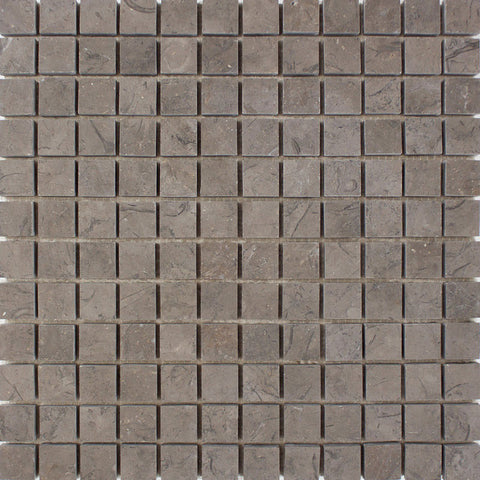 "Milly Brown 1""X1"" Mosaic - Honed"