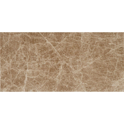 "12""X24""X1/2"" Light Emperador  Tile - Polished"