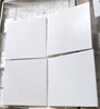 "12""X12""X3/8"" Greek Thassos Marble Tile [A4 - ECONOMY SELECTION] - HONED"