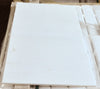 "18""X18""X3/8"" Greek Thassos Marble Tile [A4 - ECONOMY SELECTION] - POLISHED"