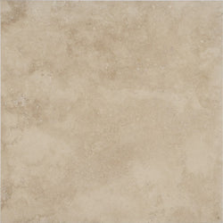 "18""X18""X1/2"" Light Travertine Tile - Honed Filled"