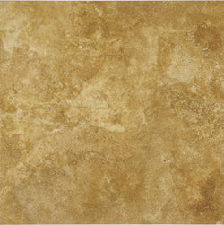 "24""X24""X1/2"" Gold Travertine Tile - Honed Filled"