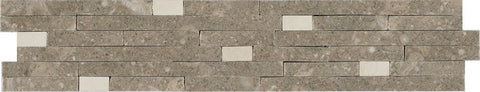 "2 1/2""X12"" Border In Seagrass + Lymra [Champagne] - Honed"