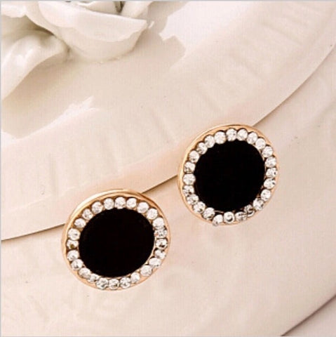 EVELYN BLACK EARRINGS