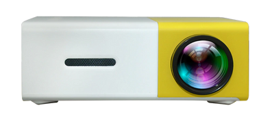 Mini Projecteur LED Portable Jaune