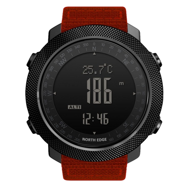 Tactical Smart Watch Apache Red Fury