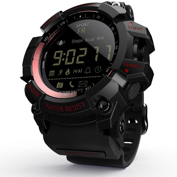 Tactical Smart Watch V8 Shock Proof Red