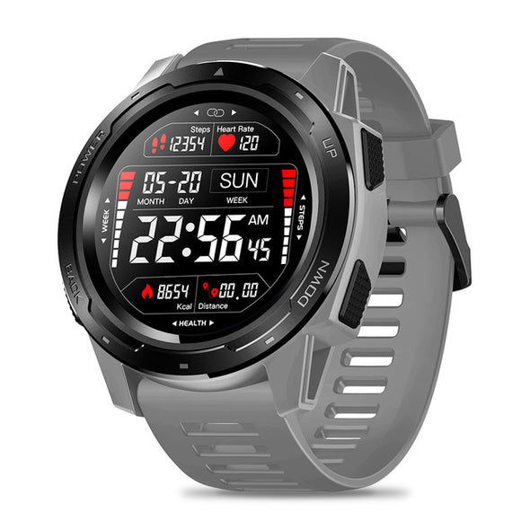Smartwatch Tactique v5- Gris