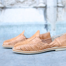 BETA HUARACHE FOR MEN IN CAMEL LEATHER
