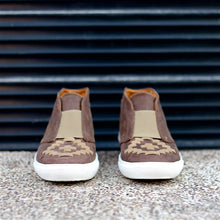 MALIN HIGHTOP FOR WOMEN IN BROWN WITH CAMEL WEAVE