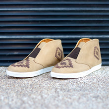 MALIN HIGHTOP FOR MEN IN CAMEL WITH BROWN WEAVE