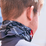 Rooster UV NECK SLEEVE FACE COVERING (GRAPHITE)