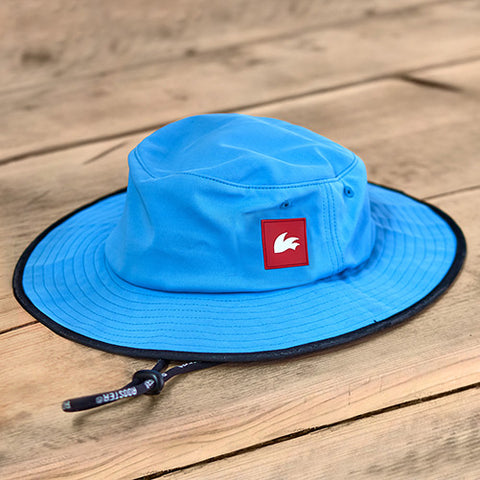 Rooster WIDE BRIMMED UV HAT Blue