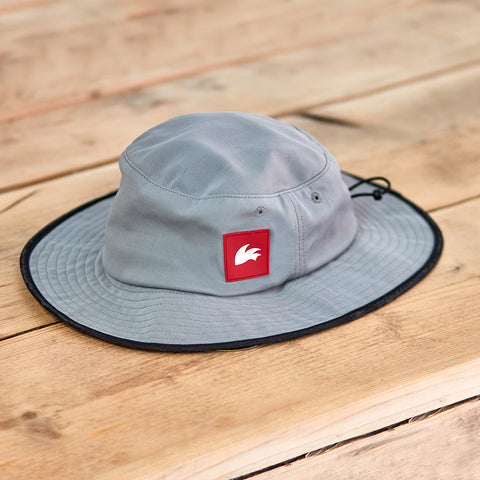 Rooster WIDE BRIMMED UV HAT Grey