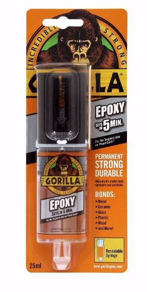 Gorilla - 5 Minute Epoxy 25ml
