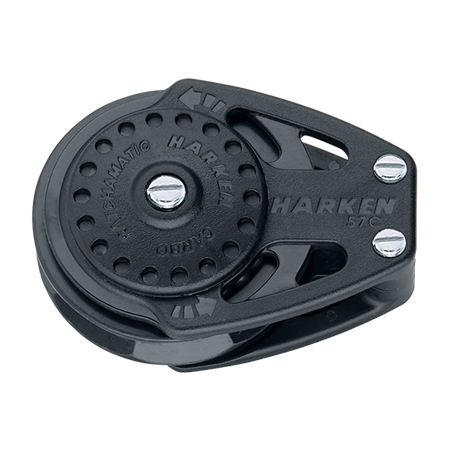 Harken 57mm Carbo Ratchamatic Cheek Block