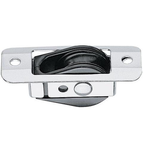 Harken 38mm Bullet Thru Deck for Wire with Stainless Coverplate