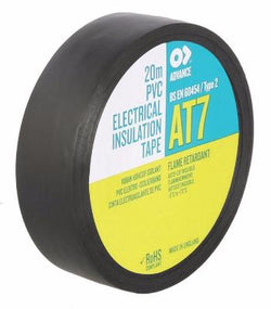 AT7 - PVC Electrical Insulation Tape 19mm x 33m