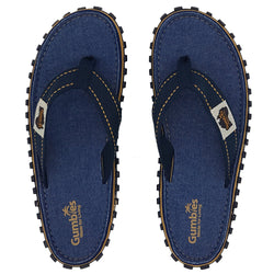Gumbies Islander Canvas Flip Flops - Denim