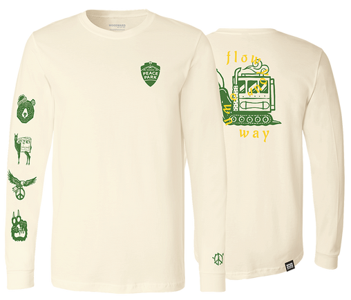 Peace Park Natural Long Sleeve T-Shirt