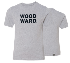Woodward Stacked Logo Youth Light Short Sleeve T-Shirt